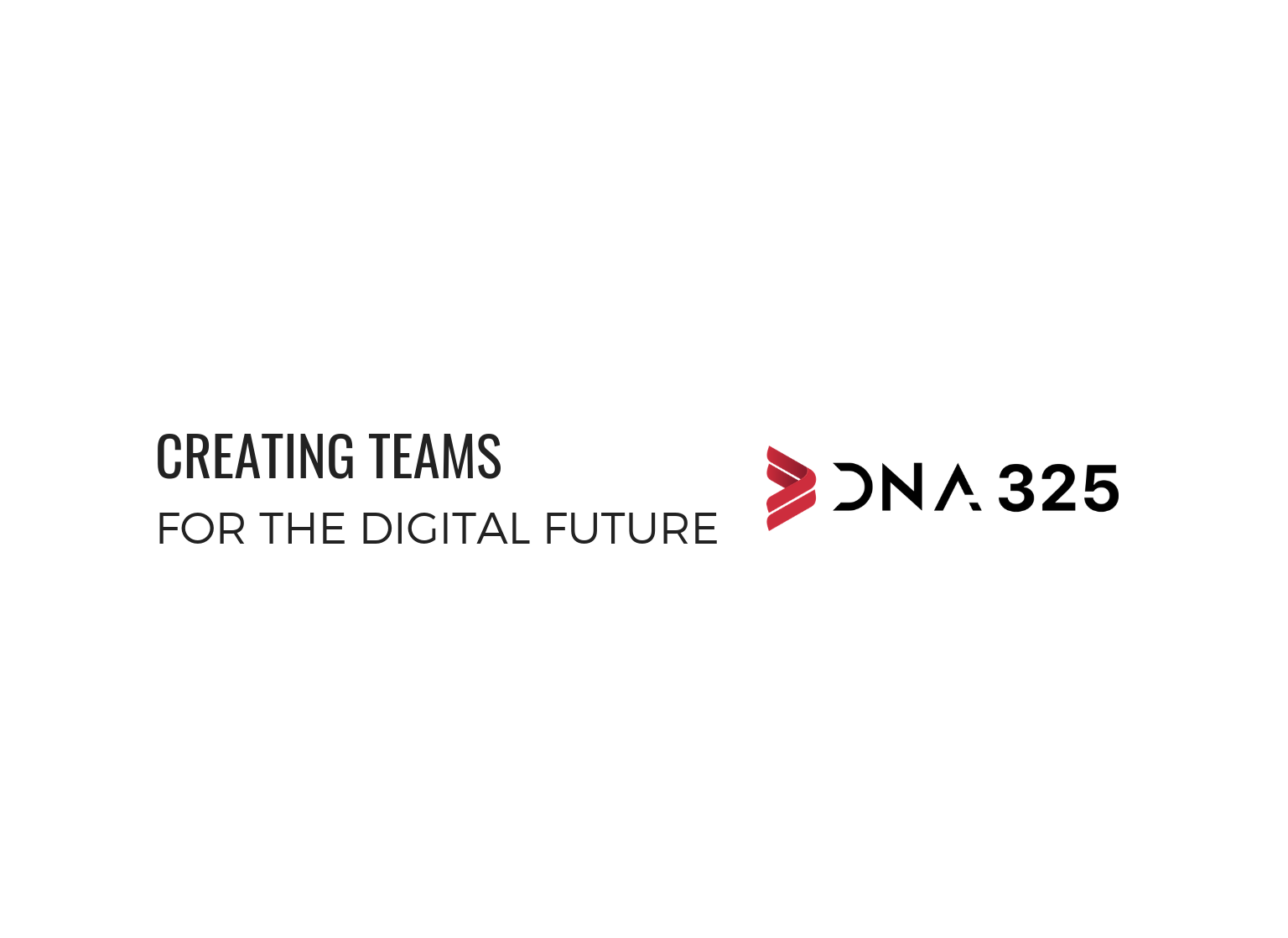 creating teams dna325